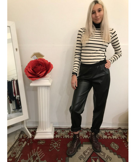 Pantalone  ecopelle mod.Ingrid