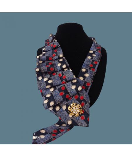 Collana in seta cravatta...