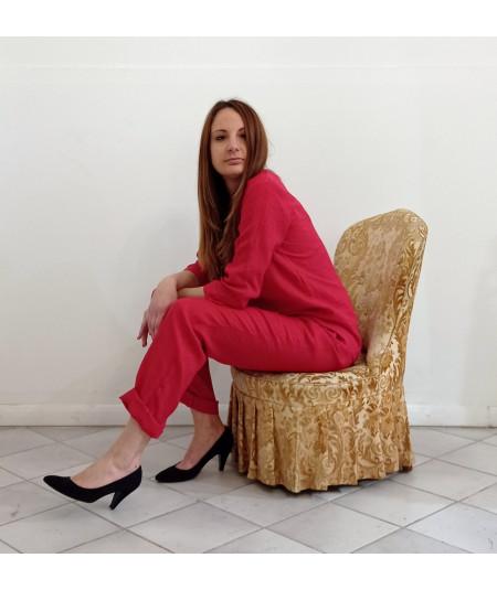 Pantalone in lino Art....