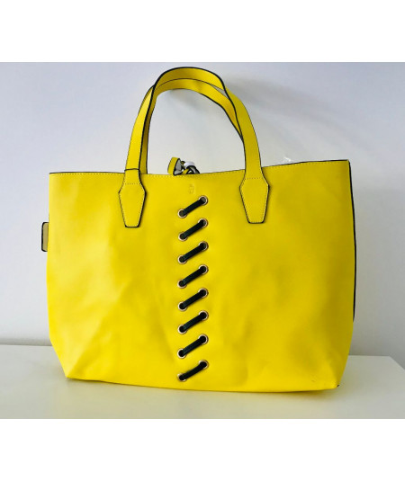 Borsa donna shopping limone...