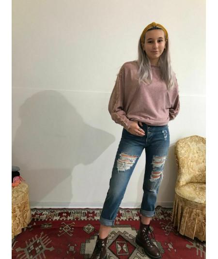 Jeans donna vita alta...