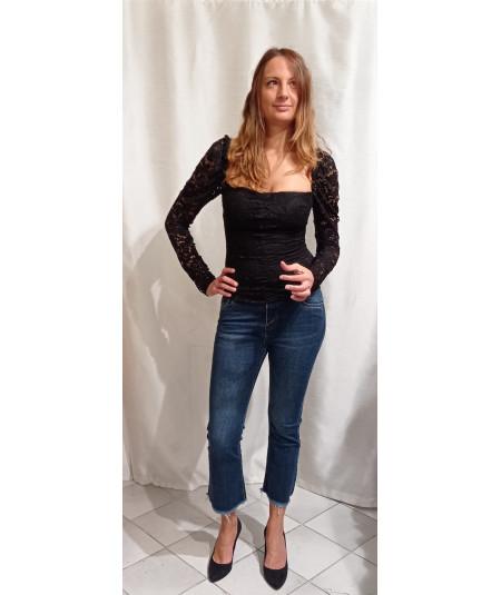 Jeans da donna art. Frange