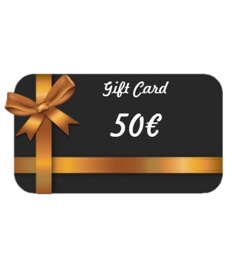 Gift Card - Valore €50,00