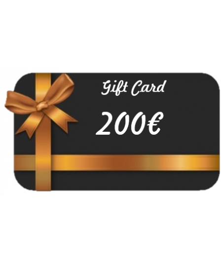 Gift Card - Valore €200,00